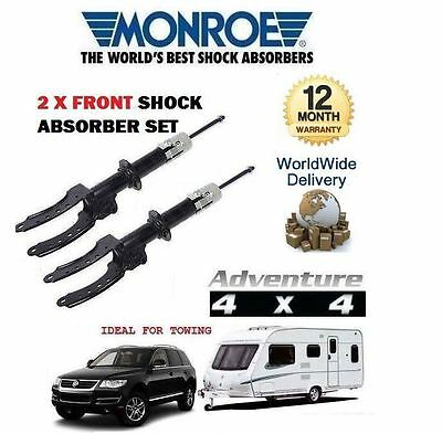 FOR VOLKSWAGEN VW TOUAREG 2002-2010 NEW 2x FRONT LH + RH SHOCK SHOCKER ABSORBER