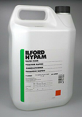 Ilford Hypam Black and White Paper Fixer 5 LTR