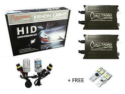 Volkswagen Golf MK5 - H7 HID Conversion Kit with LED 501 W5W Sidelight Bulbs