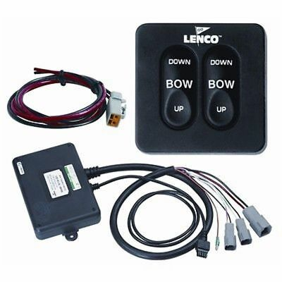 """Lenco Standard Tactile Trim Tab Switch Kit 15069-001 36"""" Power Pigtail MD"""