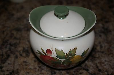 Wedgwood Covent Garden Sugar Pot With Lid