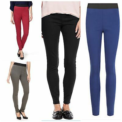 Marks and Spencer Women Pull On 6-8-10 High waist stretchy Jeggings SALE