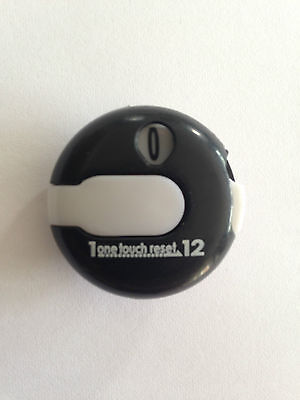 JL Golf EZ Count Stroke Counter scorer wrist upto 12 shots score black / white