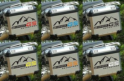 2 Stck R1200GS ADVENTURE Mountain Koffer Aufkleber R1200 GS Sticker f. BMW Fans
