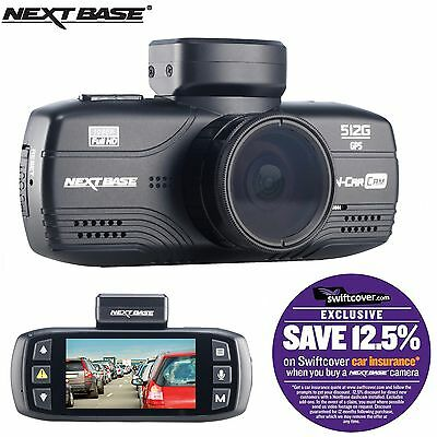 "Nextbase 512G Car Dash Dashboard Video Camera 2.7"" 1080P HD DVR Cam Anti-Glare"