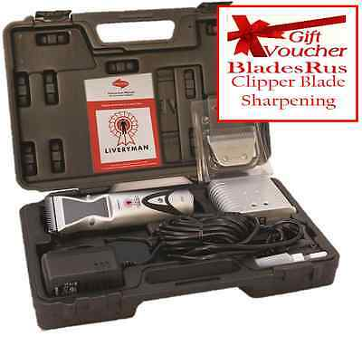 Liveryman Harmony Horse Clippers Extra Blades Plus Free Sharpening Voucher