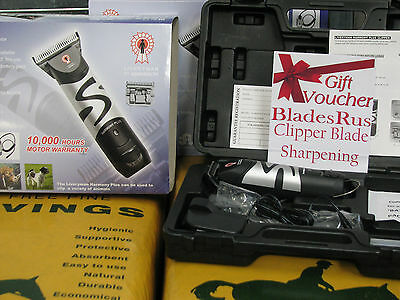 Liveryman Harmony Plus Horse Clipper - Free P+P Free Sharpening Voucher