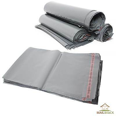 STRONG Post Mailing BAGS Poly Plastic Packet Postage Grey | Self Seal ALL SIZES