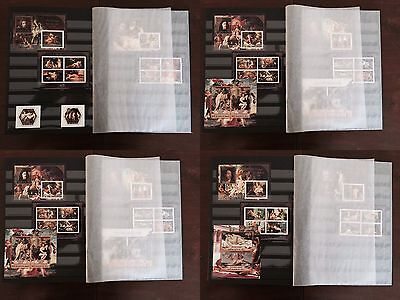 A Fine Erotic Art Paintings collection Prinz album with MNH stamp sets LAST ONE