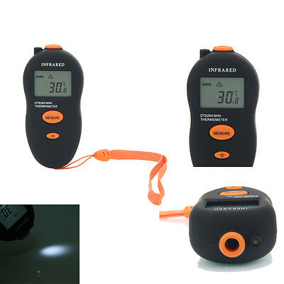 DT8260 Non-Contact LCD IR Laser Digital Infrared Thermometer Temperature Meter