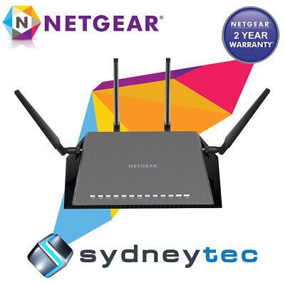 New Netgear D7800 Nighthawk X4S AC2600 Gigabit Modem Router (FTTN Compatible)
