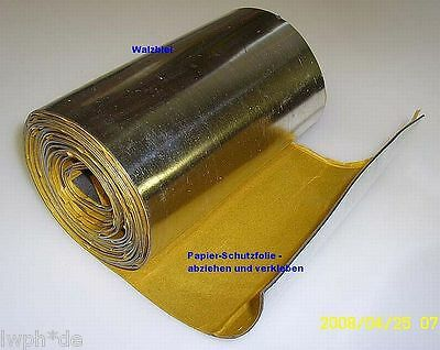 Rolled Lead Foil self adhesive 100,0 x cm x1,0 mm Radiation Protection Roof