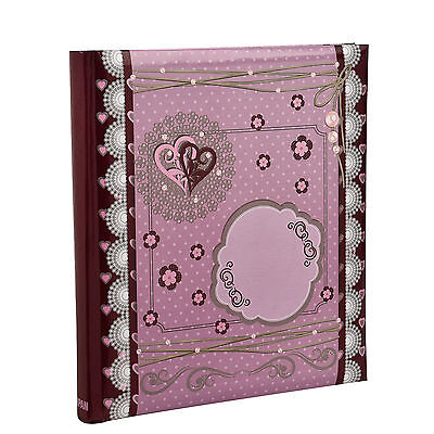 5 x 7 Slip In Case Bookbound Memo Photo Album For 120 Holds Tilda