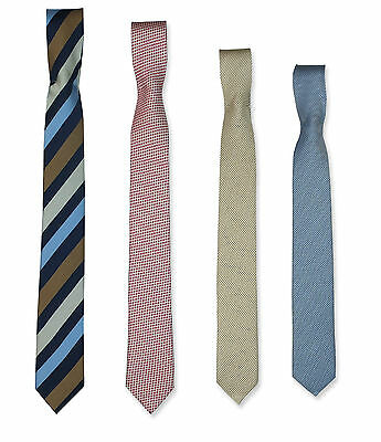 Boys Kids Quality Skinny Patterned Ties Striped Tie