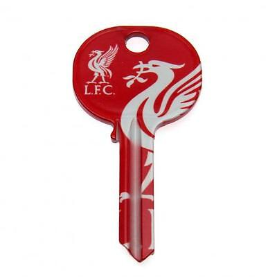 Liverpool Fc Door Key Red & White LFC Football Present Get Key Cut To Fit Door