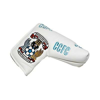 Coventry City Fc Blade Puttercover & Marker White & White Football Golf Kit New