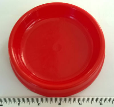 Small Plastic Cat Food Water Bowl Dish X 2 Dishes 5""