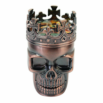 Skull Tobacco Grinder Herb Spice Crusher Accessories Hand Muller Shark Teeth