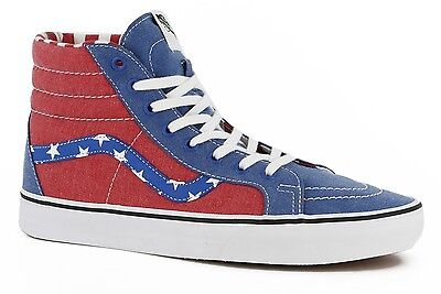 aa04c66661 VANS SK8-HI REISSUE Mens Shoes (NEW) Sizes 7-13   America USA Flag ...