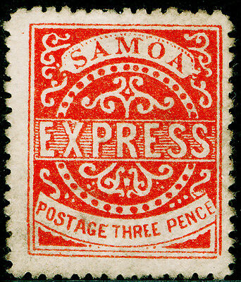 Sg11, 3d vermilion, UNUSED. Cat £450. PERF 12½.