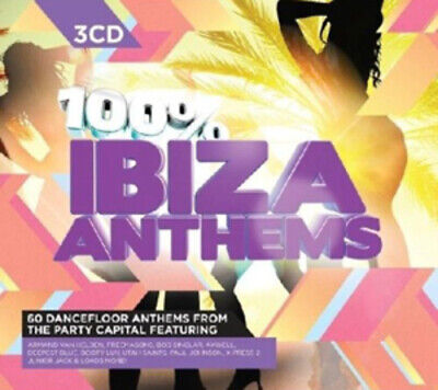 Various Artists : 100% Ibiza Anthems CD (2011)
