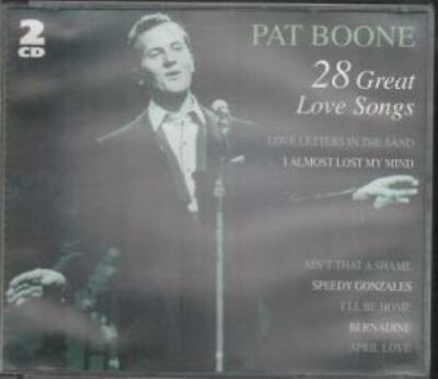 Pat Boone : 28 Great Love Songs Cd French -