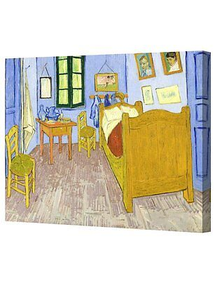 DecorArts Bedroom Arles Oil Painting by Van Gogh Giclee Print Canvas Wall Decor