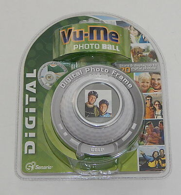 Brand NEW! VU-ME Digital Photo Ball -Golf Ball
