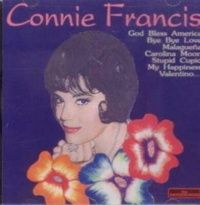 Francis Connie : The Entertainers : Connie Francis (1997) CD Fast and FREE P & P