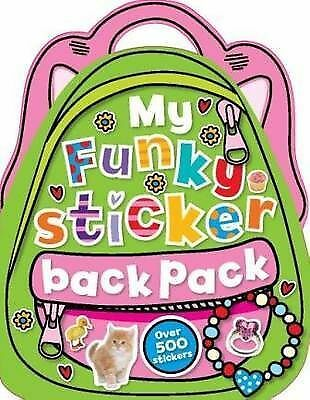My Funky Sticker Backpack, Stratford, Charlotte, Scollen, Chris, New Book