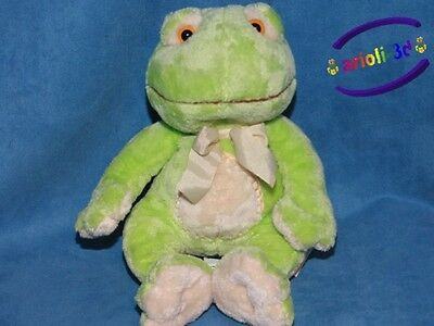 Paddles Frog  Russ Stuffed Animal Plush Grenouille Peluche New 23555 9.5''