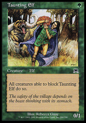 FOIL Elfo Provocatore - Taunting Elf MTG MAGIC ONS Onslaught Ita/Eng
