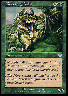 4x Baloth Torreggiante - Towering Baloth MTG MAGIC ONS Onslaught Ita/Eng