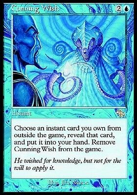 Desiderio Astuto - Cunning Wish MTG MAGIC JUD Judgment Ita/Eng