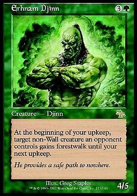 2x Genio di Erhnam - Erhnam Djinn MTG MAGIC JUD Judgment Ita/Eng