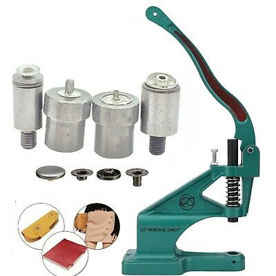 Hand Press Machine with S Spring Tool Die Set Kit in Size 12.5 or 15mm