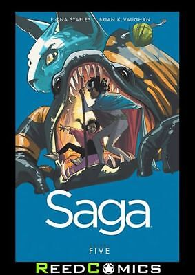 SAGA VOLUME 5 GRAPHIC NOVEL New Paperback Collects Issues #25-30