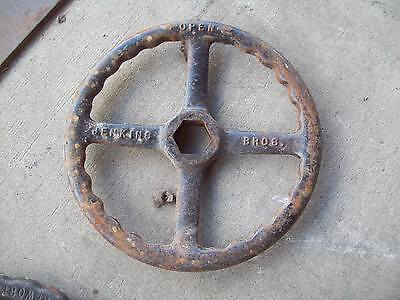 "Vintage Industrial 12  Inch Valve Handle Jenkins 12"" Several Available"