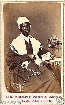 Sojourner Truth - Isabella Bell Baumfree an African-American abolitionist
