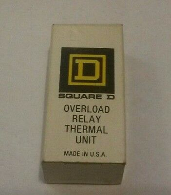 New in Box Square D Overload Relay A4.32