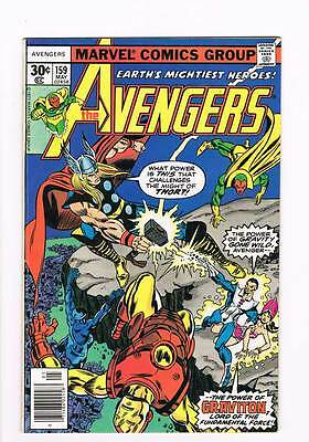 Avengers # 159 Siege by Stealth and Storm !  grade - 7.5 movie scarce hot book !