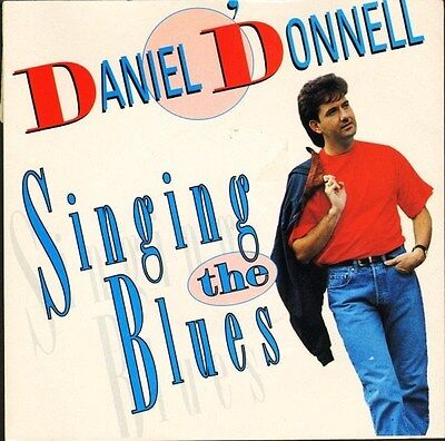 """DANIEL O'DONNELL singing the blues/lovers chain RITZ 270 uk ritz 1994 7"""" PS EX/E"""