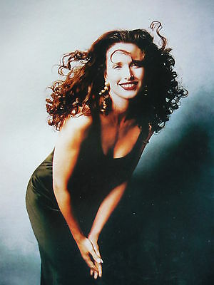 Andie Macdowell - Magazine Cutting (Full Page Photo) (Ref E1)