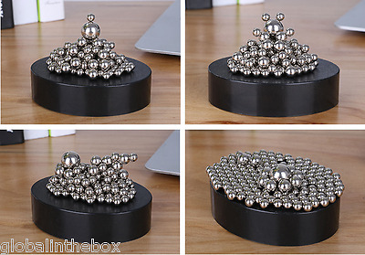 Magnetic Sculpture 170 Stainless Steel Ball Relieves Stress Kids Adult Desk Toy