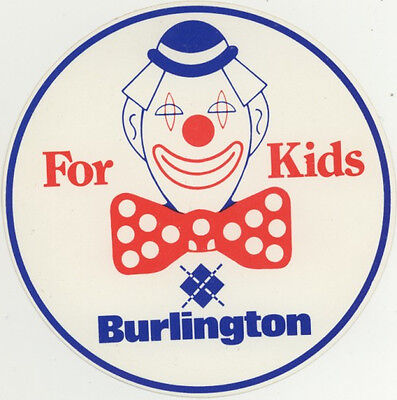 Sticker: Burlington