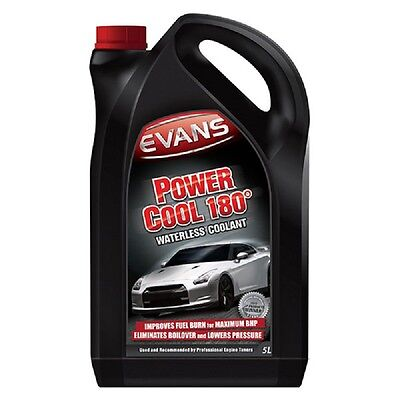 Power Cool 180 Waterless Engine Coolant Antifreeze 5 Litre Red Clear - Evans