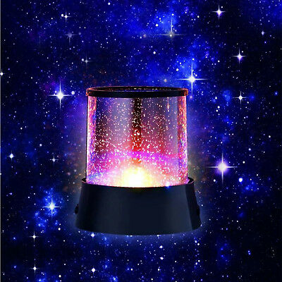 Star Sky Romatic Gift Cosmos Star Master Projector LED Starry Night Light Lamp