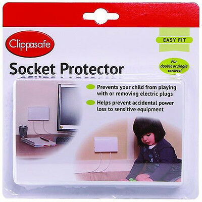 Clippasafe Plug Socket Protector Babyproofing Safety