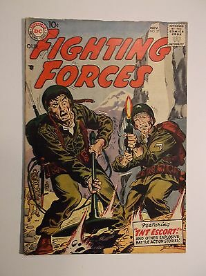 Our Fighting Forces # 27 - 1957  Vg/fn  5.0  Dc War