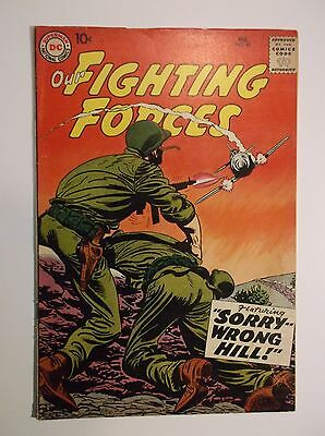Our Fighting Forces # 42 - 1959  Vg++  4.5 -  Dc War